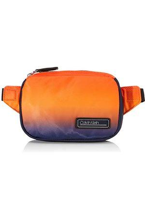 Calvin Klein Mężczyzna Torebki na ramię - Męska Primary Small Waistbag torba na ramię, pomarańczowa (Orange Degrade'), One Size