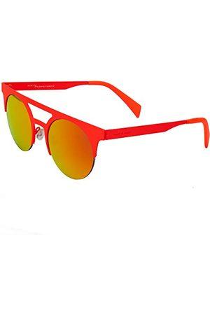 Italia Independent Okulary przeciwsłoneczne - Unisex 0026-055-000 okulary przeciwsłoneczne, czerwone (Rojo), 49