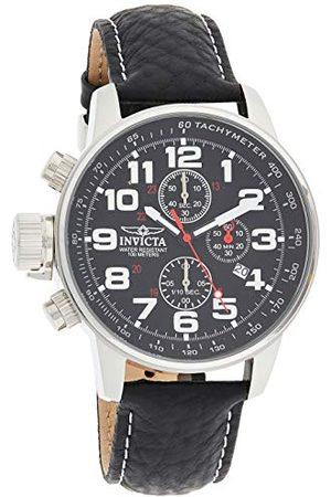 Invicta Mężczyzna Zegarki - 2770 I-Force męski zegarek na rękę ze stali nierdzewnej kwarcowy czarna tarcza