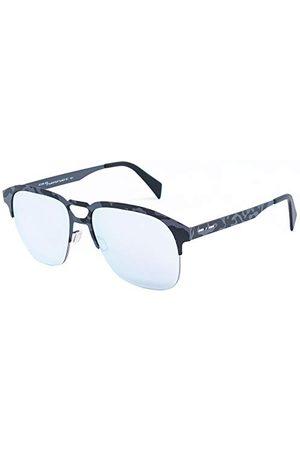 Italia Independent Okulary przeciwsłoneczne 0502-153-54 (54 mm) szare/czarne