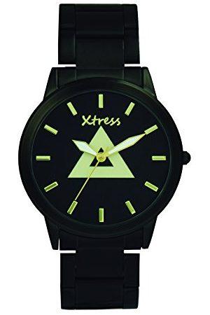 XTRESS Mężczyzna Zegarki - Męski analogowy zegarek kwarcowy z bransoletką ze stali szlachetnej XNA1034-06