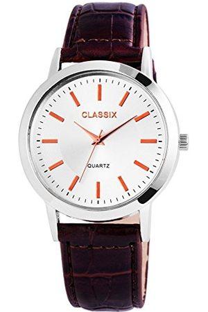CLASSIX Męski analogowy zegarek kwarcowy ze skórzanym paskiem RP4782250013