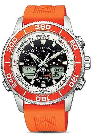 Citizen JR4061-18E męski analogowy zegarek kwarcowy z paskiem z tworzywa sztucznego