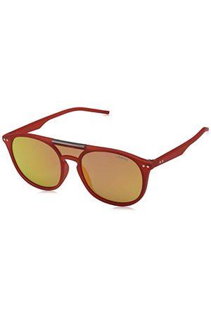 Polaroid Okulary przeciwsłoneczne - Unisex dla dorosłych PLD 6023/S Oz 15J 99 okulary przeciwsłoneczne, pomarańczowe (pomarańczowe/czerwone)