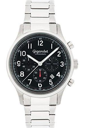 Gigandet Mężczyzna Zegarki - Męski zegarek chronograf z bransoletką ze stali szlachetnej G50-003