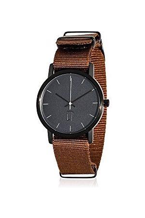 La Trotteuse Unisex analogowy zegarek kwarcowy z nylonowym paskiem LT027