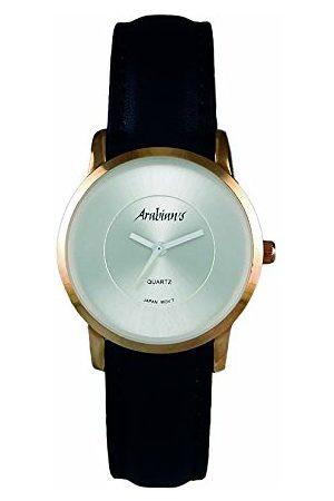 ARABIANS Męski analogowy zegarek kwarcowy ze skórzanym paskiem DBH2187WN