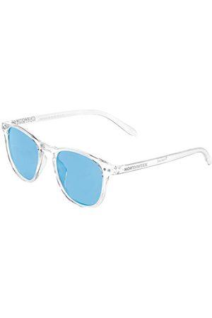Northweek Unisex Wall Rogers okulary przeciwsłoneczne dla dorosłych, niebieskie (przezroczysty ), 140.0