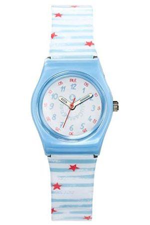 Lulu Castagnette Dziewczęcy analogowy zegarek kwarcowy z plastikowym paskiem 38838