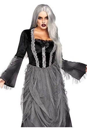 Leg Avenue Kobieta Sukienki koktajlowe i wieczorowe - Aksamitna i satyna wiktoriańska sukienka balowa, damski kostium karnawałowy