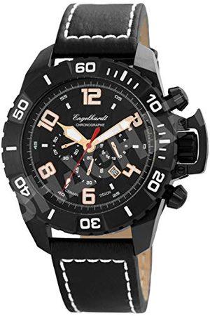 Engelhardt Męski analogowy zegarek mechaniczny ze skórzanym paskiem 388971029003