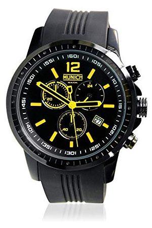 Munich Unisex dla dorosłych, analogowy zegarek kwarcowy z silikonowym paskiem MU+102.9A