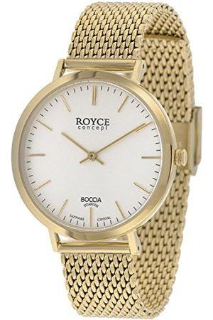 Boccia Męski cyfrowy zegarek kwarcowy z paskiem ze stali nierdzewnej 3590-11