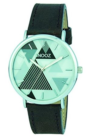 Snooz Męski analogowy zegarek kwarcowy ze skórzanym paskiem Saa1041-67