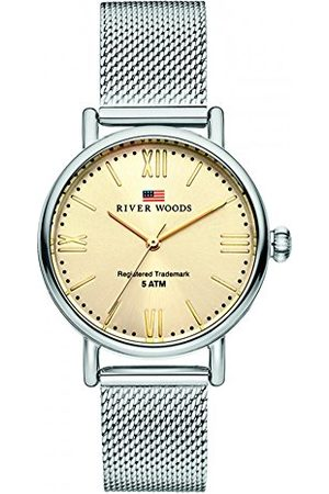River Woods Damski zegarek ze stali nierdzewnej Wisconsin Bransoletka /