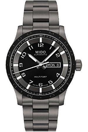 MIDO Męski zegarek Multifort analogowy automatyczny tytan m018.430.44.052.00