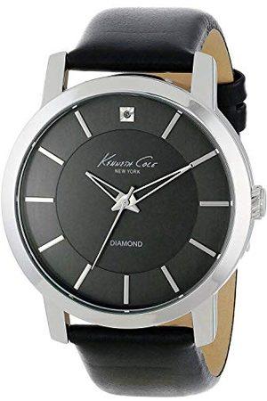 Kenneth Cole Kobieta Zegarki - Damski analogowy zegarek kwarcowy ze skórzanym paskiem 10008056