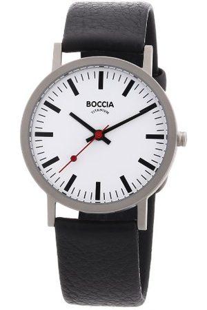 Boccia Męski zegarek na rękę skóra 521-03