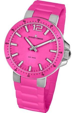 Jacques Lemans Unisex zegarek na rękę Milano analogowy silikon 1-1709I