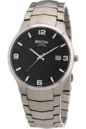 Boccia Mężczyzna Zegarki - Męski zegarek na rękę XL analogowy tytan 3561-02