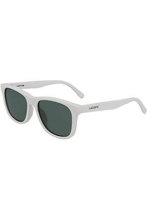 LACOSTE EYEWEAR Męskie białe okulary uniseks