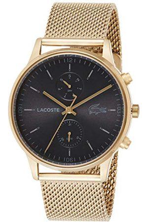 Lacoste Męski analogowy zegarek kwarcowy z bransoletką ze stali szlachetnej 2011098