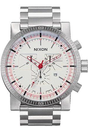 Nixon Męski zegarek na rękę Magnacon SS II White SR analogowy kwarcowy stal szlachetna A457199-00