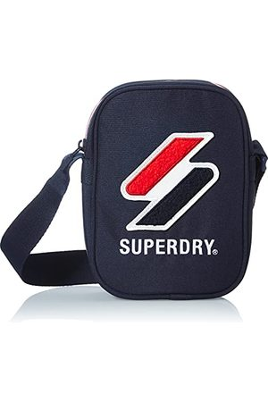 Superdry Męska torba sportowa, rozmiar uniwersalny, Risk Red - jeden rozmiar