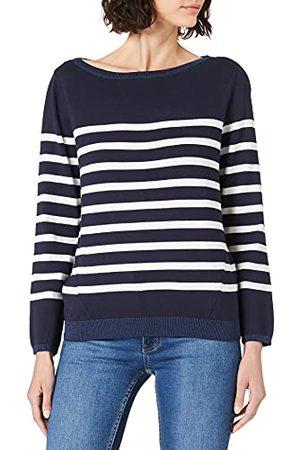 Mexx Damski sweter w paski Boatneck