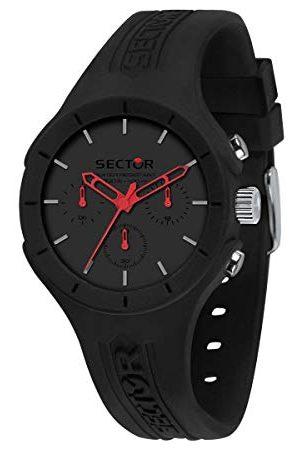 Sector No Limits Męski analogowy zegarek kwarcowy z silikonową bransoletką R3251514013