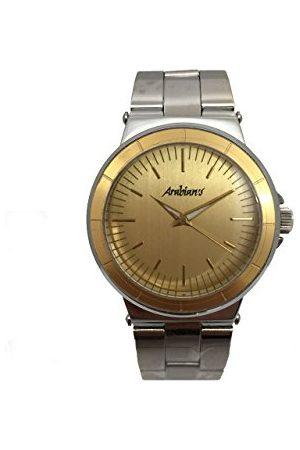 ARABIANS Męski analogowy zegarek kwarcowy z bransoletką ze stali szlachetnej DBH2188D
