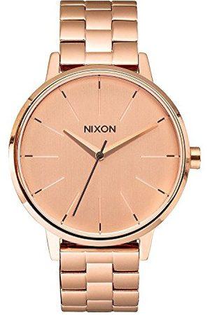 Nixon Kobieta Zegarki - Damski analogowy zegarek kwarcowy z powłoką ze stali szlachetnej A099897-00