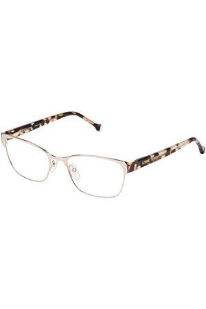 Loewe Unisex dla dorosłych VLW483M530492 oprawki okularów, złoto (Light Gold W/Colors Parts), 55
