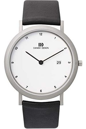 Danish Design Męski zegarek na rękę XL analogowy kwarcowy skóra 3316313, /