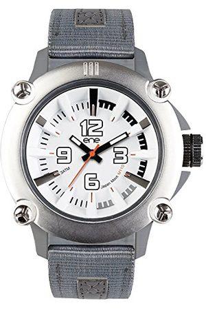 Eñe Mężczyzna Zegarki - Męski analogowy zegarek kwarcowy z nylonowym paskiem 640000109