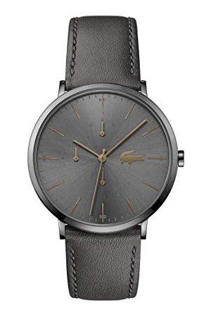 Lacoste Mężczyzna Zegarki - Męski analogowy zegarek kwarcowy ze skórzanym paskiem 2011059