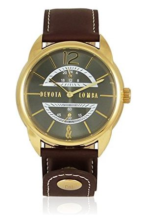 Devota&Lomba Zegarek na rękę DL009MMF-02BRBLACK