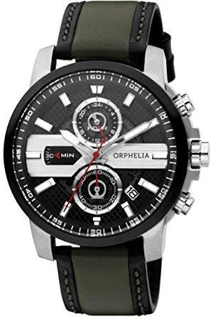 ORPHELIA Mężczyzna Zegarki - Męski zegarek na rękę X-plane analogowy kwarcowy skóra Taśma różnokolorowy/różnokolorowy