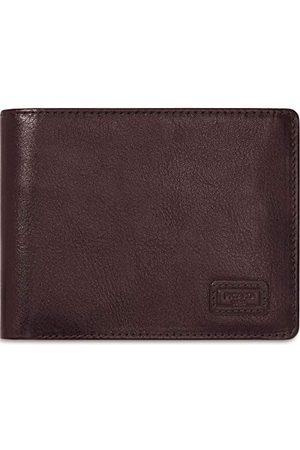 Picard Mężczyzna Portmonetki i Portfele - Męski portfel z serii Authentic 1, w kawiarni/brązie, ze skóry 73281A2055