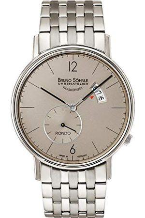Soehnle Bruno Söhnle męski analogowy zegarek kwarcowy z bransoletką ze stali szlachetnej 17-13053-862