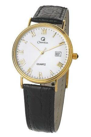 ORPHELIA Męski analogowy zegarek kwarcowy ze skórzanym paskiem MON-7081