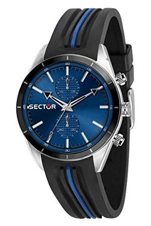 Sector No Limits Męski analogowy zegarek kwarcowy z silikonową bransoletką R3251516004