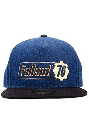 Difuzed Czapki z daszkiem - Unisex Fallout 76 Logo czapka baseballowa, niebieska, rozmiar uniwersalny