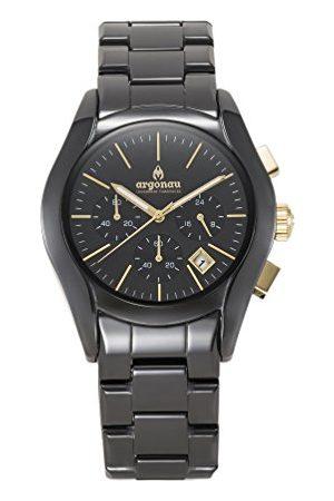 ARGONAU Unisex Dorośli Analogowy zegarek kwarcowy z ceramiczną bransoletką AU1302