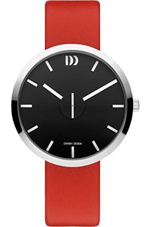 Danish Design Unisex dla dorosłych analogowy kwarcowy zegarek ze skórzanym paskiem IQ24Q1198