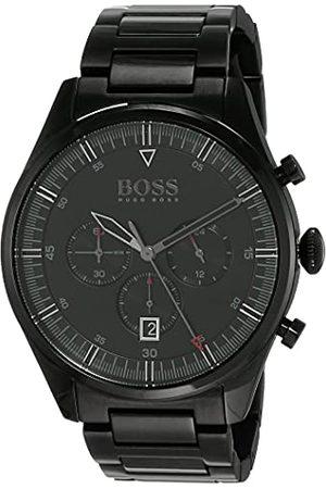 HUGO BOSS Męski analogowy zegarek kwarcowy z paskiem ze stali nierdzewnej 1513714