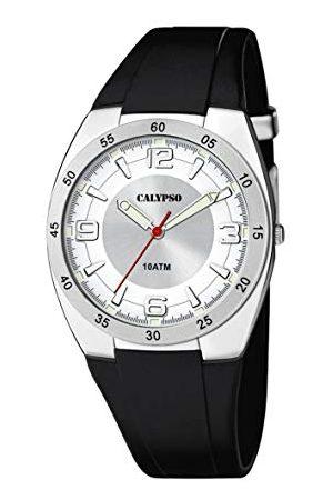 Calypso Uniseks dla dorosłych analogowy zegarek kwarcowy z plastikową bransoletką K5753/1