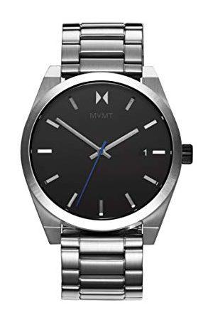 MVMT Męski analogowy zegarek kwarcowy z paskiem ze stali nierdzewnej 28000038-D