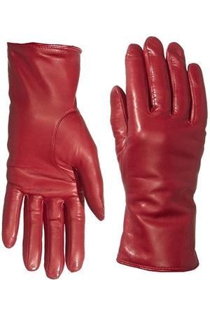 Roeckl Damskie klasyczne kolorowe rękawiczki, czerwone (red 450), 6 (rozmiar producenta: 6)