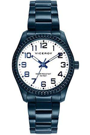 Viceroy Męski analogowy kwarcowy Smart Watch zegarek na rękę z bransoletką ze stali szlachetnej 40860-34